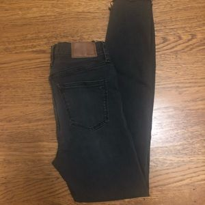 "Madewell Jeans - Madewell 10"" high rise skinny jeans"